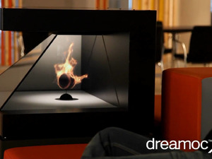 DREAMOCXL - 3D Holograpic Fireplace