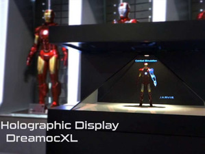 IRON MAN 3 - 3D HOLOGRAPHIC DISPLAY